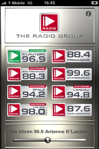 Apple Iphone App Radio Group
