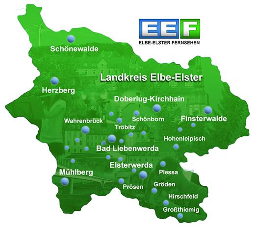 EEF Sendegebiet