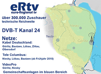 Gebiet von euro Regional tv