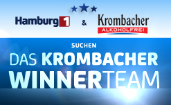 Krombacher Winnerteam 2014