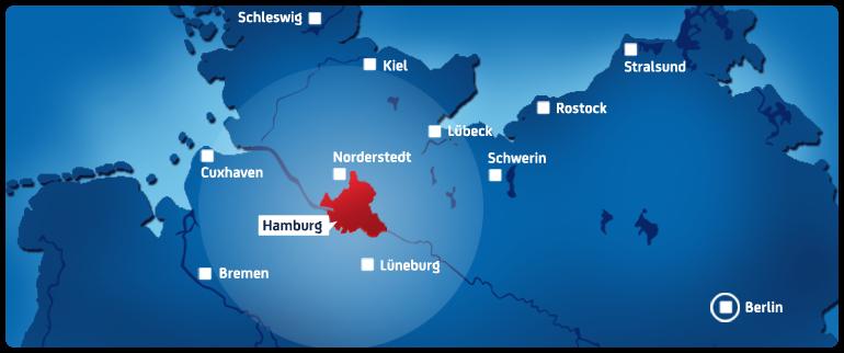 Sendegebiet Hamburg 1