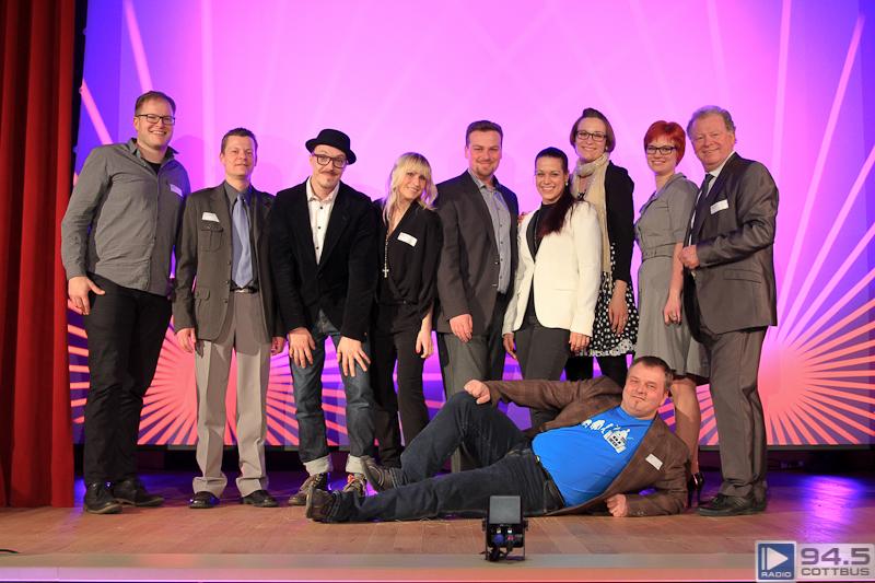 100% digital - das neue 94.5 Studio am Cottbuser Schloßkirchplatz