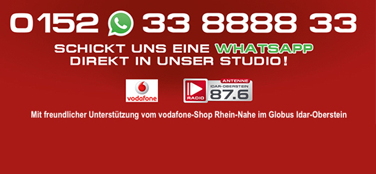 Antenne WhatsApp 0152-33888833