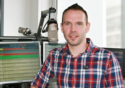Andy Hinz im Studio