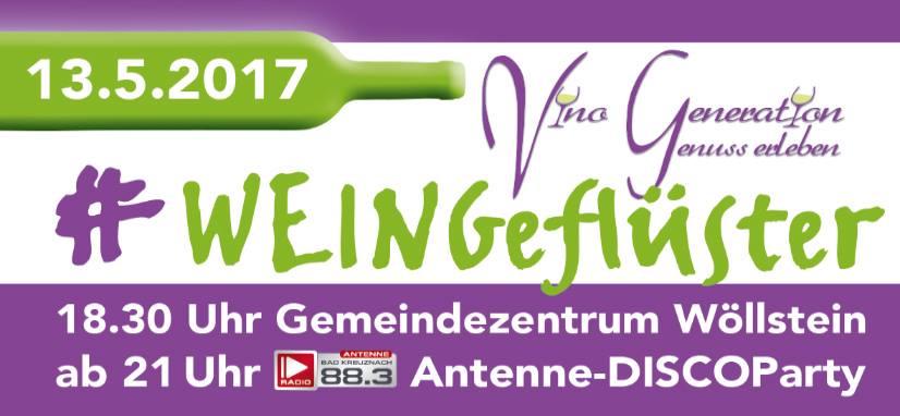 Weingeflüster in Wöllstein
